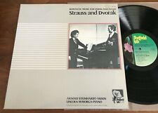 STRAUSS AND DVORAK ~ MAYORGA /SHEFFIELD LAB 18 DIRECT DISC AUDIOPHILE 1982 NM LP