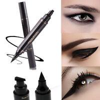 Winged Eyeliner Stamp Waterproof Makeup Cosmetic Eye Liner Black Pencil Liquid