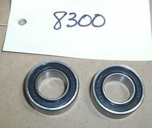 """3/4"""" ID X 1 3/8""""OD X 7/16' Thick PAIR of SEALED BEARINGS 99502 HD LSLG"""