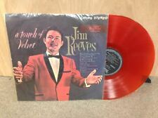 Jim Reeves A Touch of Velvet LP TAIWAN Import Orange Colored Vinyl STEREO