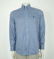 Polo Ralph Lauren Non-Iron Cotton Striped Button Shirt Mens Medium