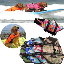 Dog Life Jacket Swimming Reflective Surfing Vest Clothes Training Swimming Saver