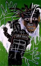 "Jean-Michel Basquiat ""Self portrait as heel 2"" HD print on canvas 12x8"""