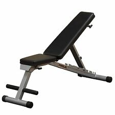 PowerLine Folding Flat/incline/decline Utility Weight Bench