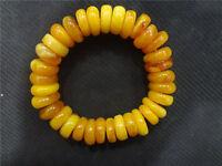 tibet mila bracelet mala prayer bead amber resin necklace antique baltic sea