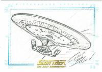 Quotable Star Trek Next Generation TNG Chris Bolson USS Enterprise Sketchafex #2