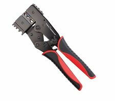 Twin Head Ratcheting Electrical Crimping Pliers Insulated & Non Insul T243500