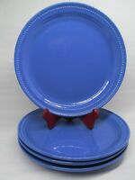 """Dansk Craft Colors Blueberry 10.5"""" dinner plates bundle of 4"""