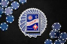 Ellusionist Cohorts Blue Playing Cards - Printed by Cartamundi