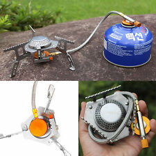 Portable Mini Gas-Burner Fishing Outdoor Kitchen Cooking Camping Picnic Stove