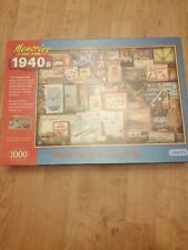 Memories Of The 1940's Toy Box 1000 Piece Jigsaw (Gibsons)