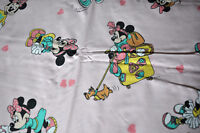 disney vintage CTI Minnie Reversible Duvet Cover with Hearts & Pillowcase