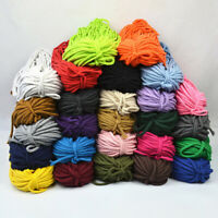 10M Cotton Rope Twisted Cord Sewing Gift Packing Macrame String DIY Craft 7mm
