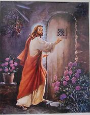 FREE SHIPPING! ART SALE! LOT JESUS CHRIST SIX Jesus Lord Knocking 16x20 prints