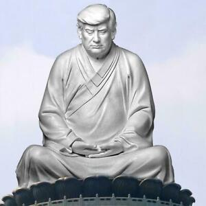Buddha Statue Of Trump Donald Trump Make Your Business Great Ornaments L2I5