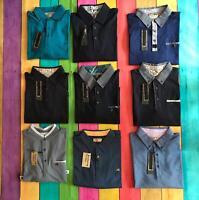 Maddox Street Polo Shirt, Blue Cotton, BNWT, SUMMER SALE