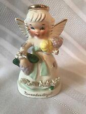 Vintage Napco November Angel