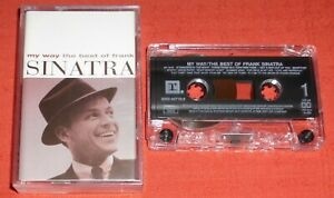 FRANK SINATRA - UK CASSETTE TAPE - MY WAY  (BEST OF/GREATEST HITS)