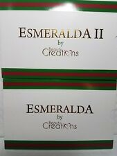 2 PACK BEAUTY CREATIONS EYE SHADOW 15 COLORS EACH ESMERALDA I & II NEW SHADES