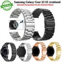 Edelstahl Uhren Armband Ersatz für Samsung Gear S3/S2 Sport Classic 20/22mm