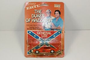 1981 Ertl 1/64 Dukes of Hazzard General Lee Diecast Car Warner Bros on Card