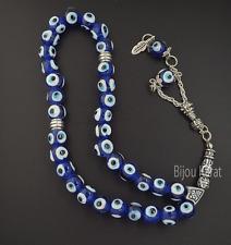 Nazar BoncukTesbih 33er Gebetskette Perlenkette Türkisches Auge Perlen Auto