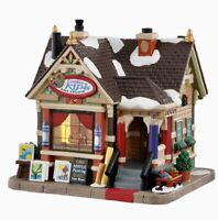Lemax Village Collection CREATIVE ART STUDIO #05656 BNIB Illuminated Building