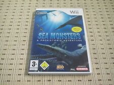 Sea Monsters A Prehistoric Adventure per Nintendo Wii e Wii U * OVP *