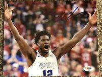 Justice Winslow #12 Duke Blue Devils Hand Signed Autographed 8 x 10 Photo w/ PSA