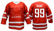 Team Canada RED Ice Hockey Jersey Custom Name and Number