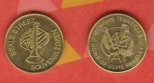 KING  Elvis Presley Collectors Coin~GOLD COLOR MEDAL~