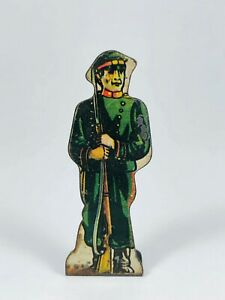 Russian Infantry #20 Vintage Marx Toy Lithograph Tin Foot Soldier Litho Figure