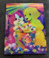 Lisa Frank Folder Rainbow Matinee Shimmery  2 Pocket School Portfolio 3 Hole
