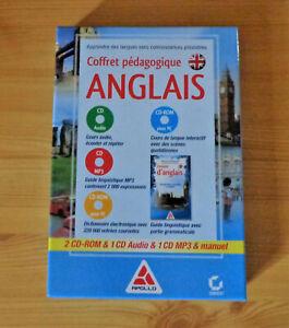 Coffret pédagogique Anglais (1 manuel et 4 CD)