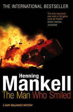 The Man Who Smiled: Kurt Wallander, By Mankell, Henning,in Used but Acceptable c