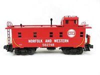 MTH 20-91017 Nortfolk & Western Steel Caboose NIB