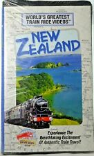 "Sealed ""Worlds Greatest Train Ride Videos New Zealand"" VHS 1998 Train Travel"