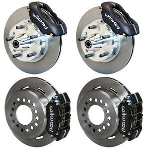 WILWOOD DISC BRAKE KIT,DODGE & PLYMOUTH 62-72 B-BODY,70-72 E-BODY W/DRUMS,11""