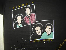 Vintage Concert T-Shirt SIMON & GARFUNKEL 83 NEVER WORN NEVER WASHED PAUL SIMON