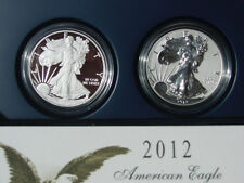 2012 AMERICAN EAGLE SAN FRANCISCO 2-COIN SILVER PROOF SET (EG1)