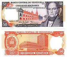 VENEZUELA Billet 50 BOLIVARES 1998 P65 BELLO UNC NEUF