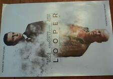 """Looper Promotional movie poster 11""""x17"""" Bruce Willis Emily Blunt"""