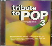 TRIBUTE TO POP VOLUME 3 HITS COLLECTION CD - SEASONS IN THE SUN & MORE