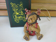 Boyds Bearstone Ornament-Wolfgang