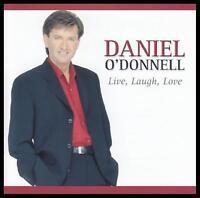 DANIEL O'DONNELL - LIVE LAUGH LOVE CD ~ IRISH *NEW*