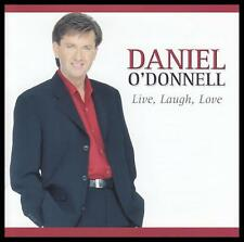 DANIEL O'DONNELL - LIVE LAUGH LOVE CD ~ IRISH *NEW*