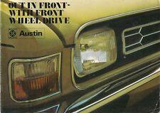 Austin 1973-74 UK Market Sales Brochure Mini Allegro Maxi 1800 2200