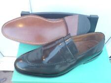 Nuevo Clarks hombre hechos a Mano Zapato De Vestir Negro UK 7/7.5