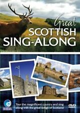 Great Scottish Sing-Along Music DVD classic songs on a Tour of Scotland