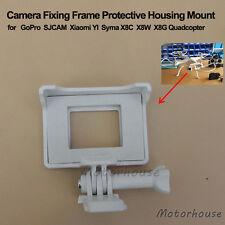 White Camera Fixing Frame Protective Cover Mount F GoPro SJCAM Syma X8G X8C X8W